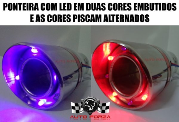 Escapamento com LED